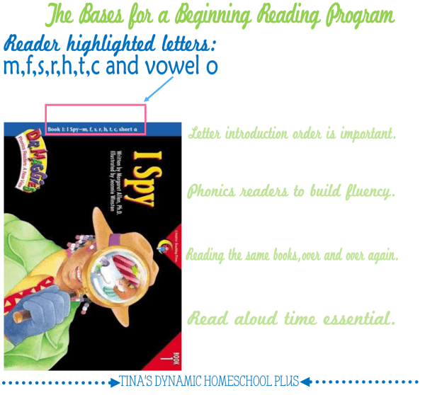 Bases for a Beginning Reading Program @ Tina's Dynamic Homeschool Plus