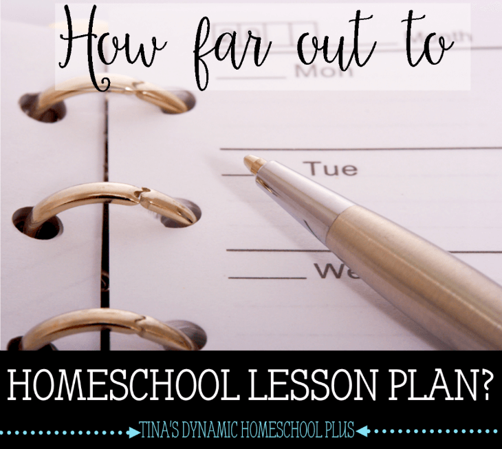 How Far Out to Homeschool Lesson Plan @ Tiina's Dynamic Homeschool Plus
