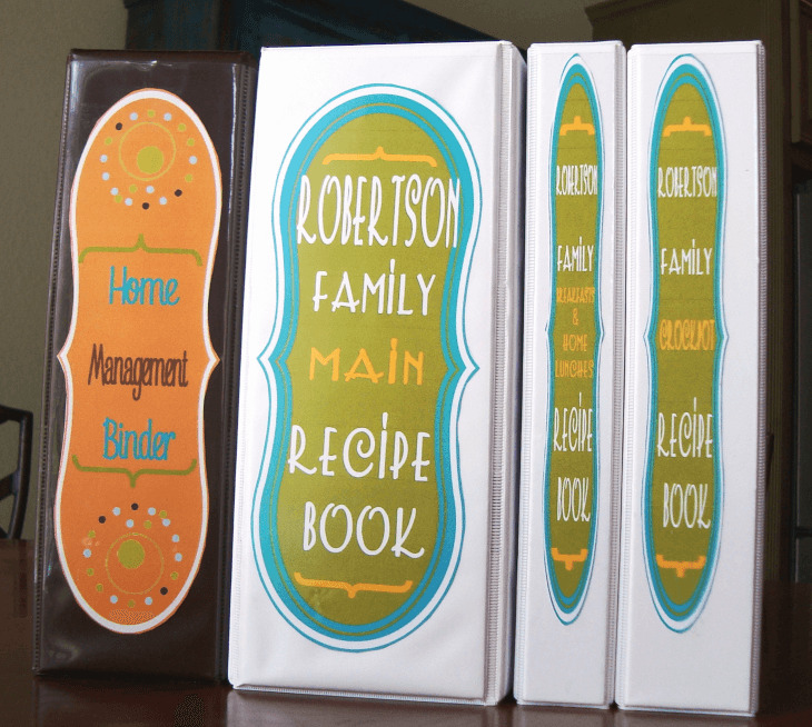 Using 3 ring binders to organize for homeschool @ Tina's Dynamic Homeschool Plus