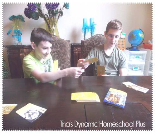 Birdcage Press History Game 2 @ Tina's Dynamic Homeschool Plus