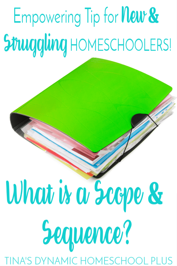 Do Homeschoolers Need to Know What is a Scope and Sequence? Click here to grab these AWESOME tips!