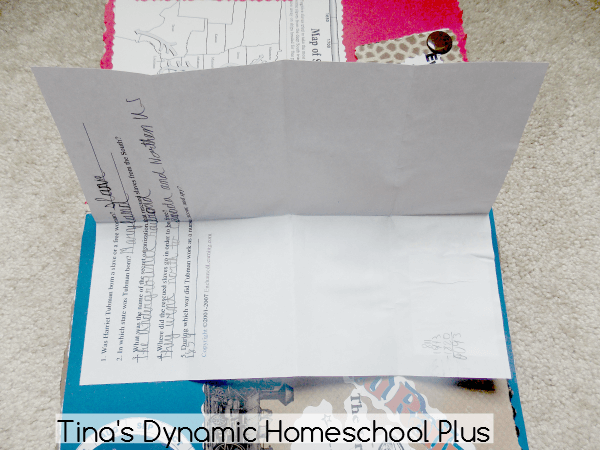 1. Grab your worksheet to go in your lapbook @ Tina's Dynamic Homeschool Plus
