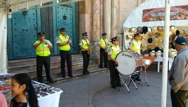 Band downtown Cuenca @ Tina's Dynamic Homeschool Plus