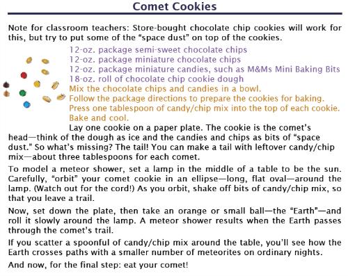 Comet Cookies