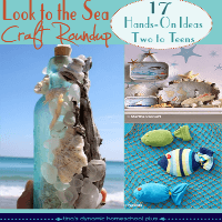 Winter Homeschooling - Look to the Sea. 17 Hands-On Activities for Two to Teens @ Tina's Dynamic Homeschool Plus featured