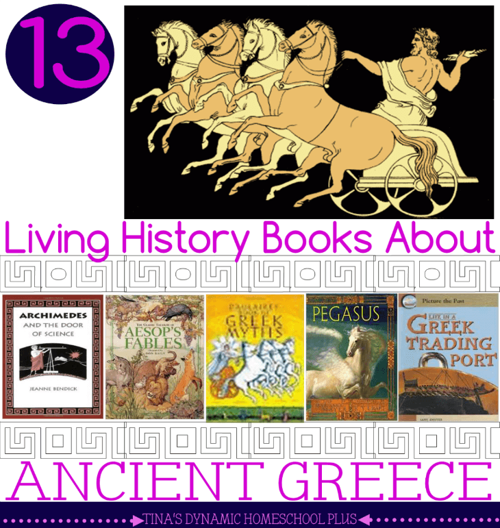 13 Living History Books about Ancient Greece @ Tina's Dynamic Homeschool Plus