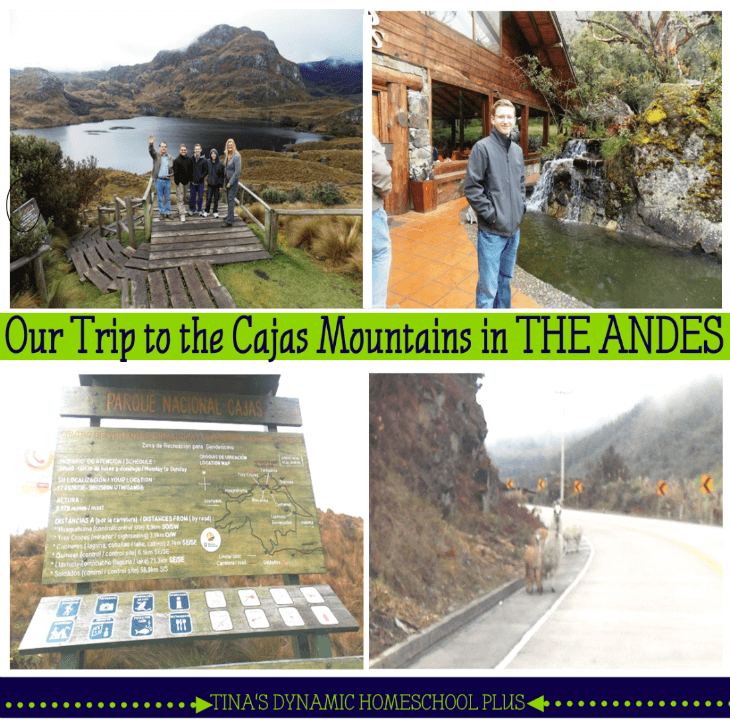 Cajas Mountain in the Andes Mountains @ Tina's Dynamic Homeschool Plus