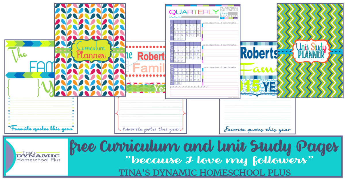 Free Homeschool Planner and Unit Study Freebies. Click here to scoot by and grab them!