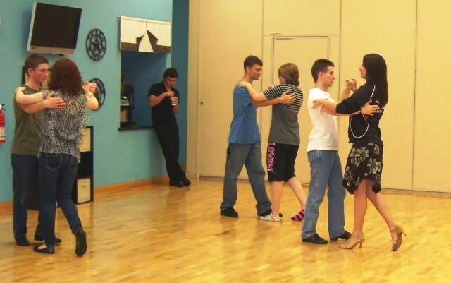 Ballroom dancing as fine arts @ Tina's Dynamic Homeschool Plus