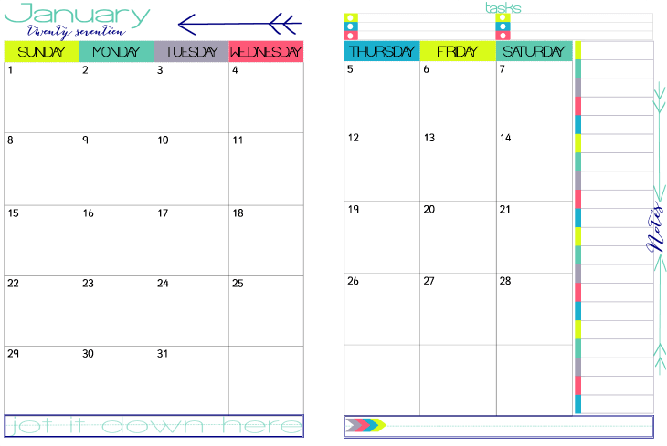 two page monthly calendar template - step 2 choose calendar appointment keepers build your