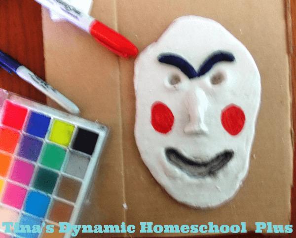 Easy Greek Mask 3