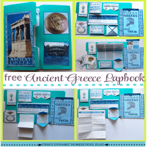Free Ancient Greece Lapbook