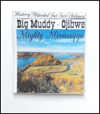 Big Muddy free minibook about the Mississippi River @ Tina's Dynamic Homeschool Plus1