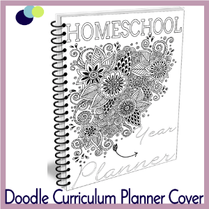 Doodle Curriculum Planner Cover 300 x 300 Tina Dynamic Homeschool Plus