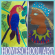 Homeschool Art (Why Video Based Teaching Rocks) @ Tina's Dynamic Homeschool Plus FEATURED 300X