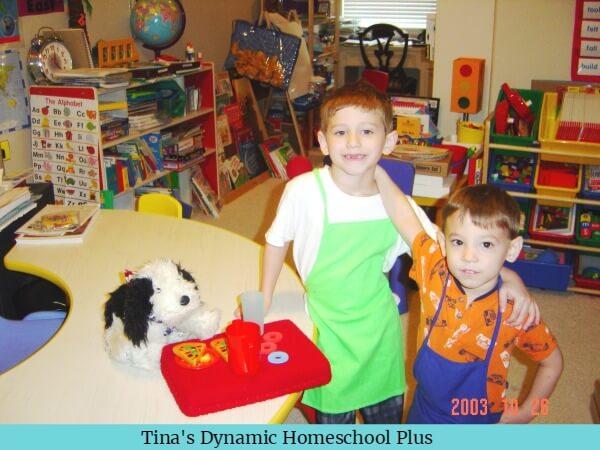 Homeschool Room for Younger Children @ Tina's Dynamic Homeschool Plus