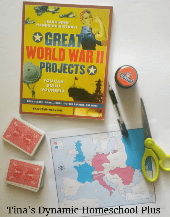 1 WWII Secret Cards Activity @ Tina's Dynamic Homeschool Plus