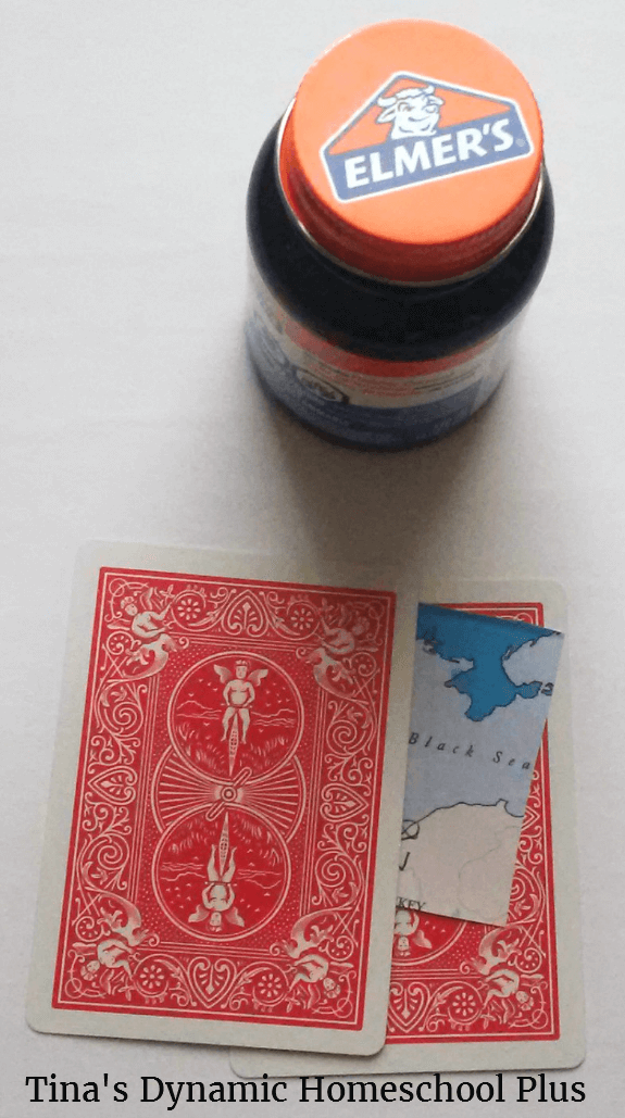 5 WWII Secret Cards Activity @ Tina's Dynamic Homeschool Plus