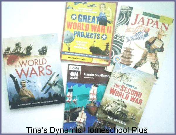 World War II books for a homeschool unit study @ Tina's Dynamic Homeschool Plus