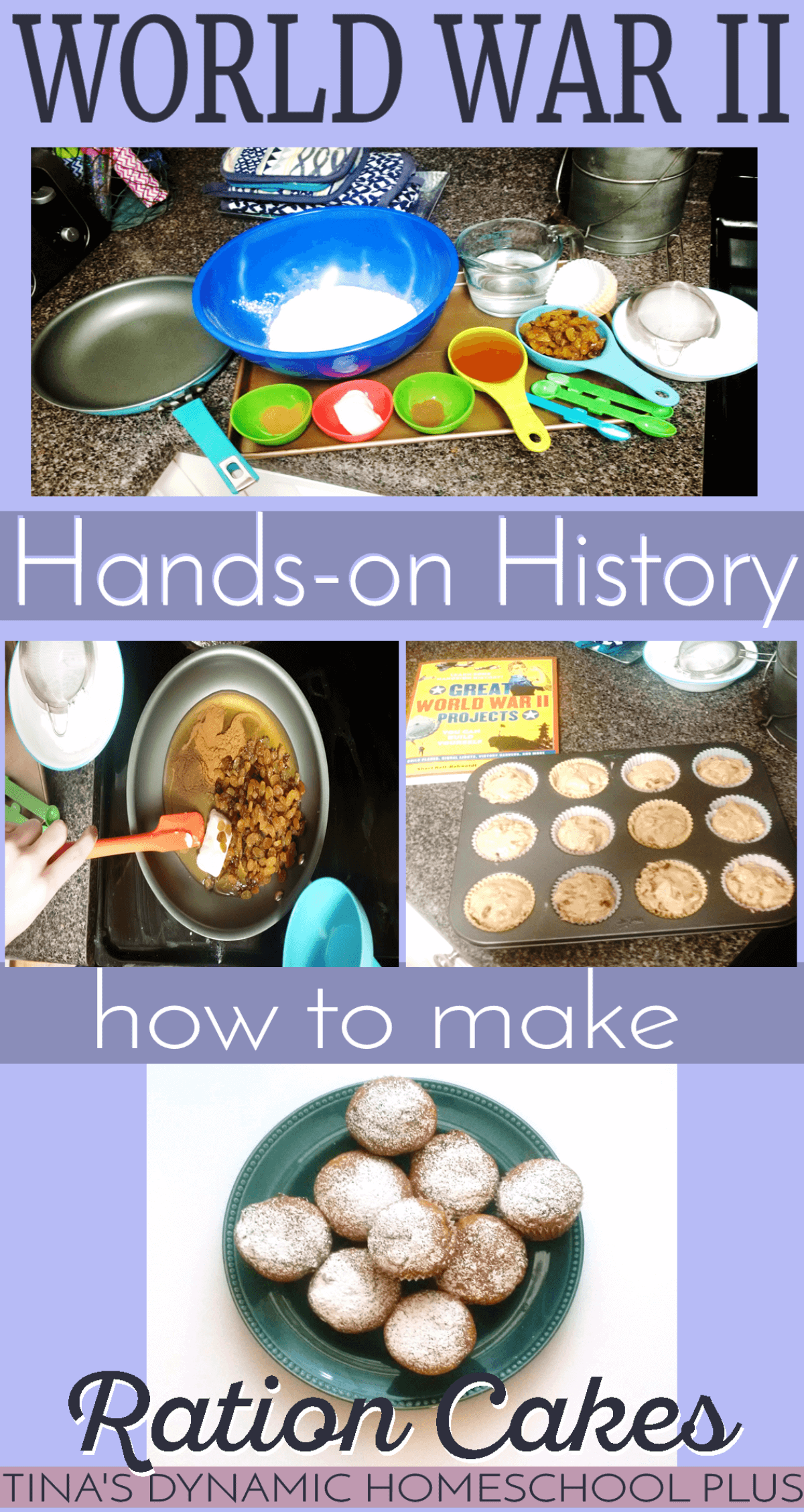 World war ii hands on history make ration cakes forumfinder Image collections