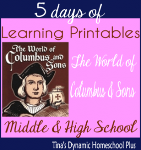 American History | Christopher Columbus Lapbook