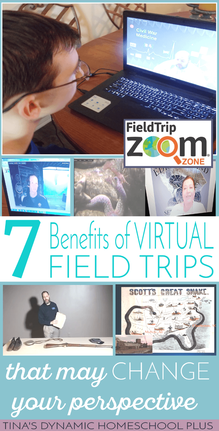 7 Benefits of Virtual Field Trips that May Change Your Perspective @ Tina's Dynamic Homeschool Plus