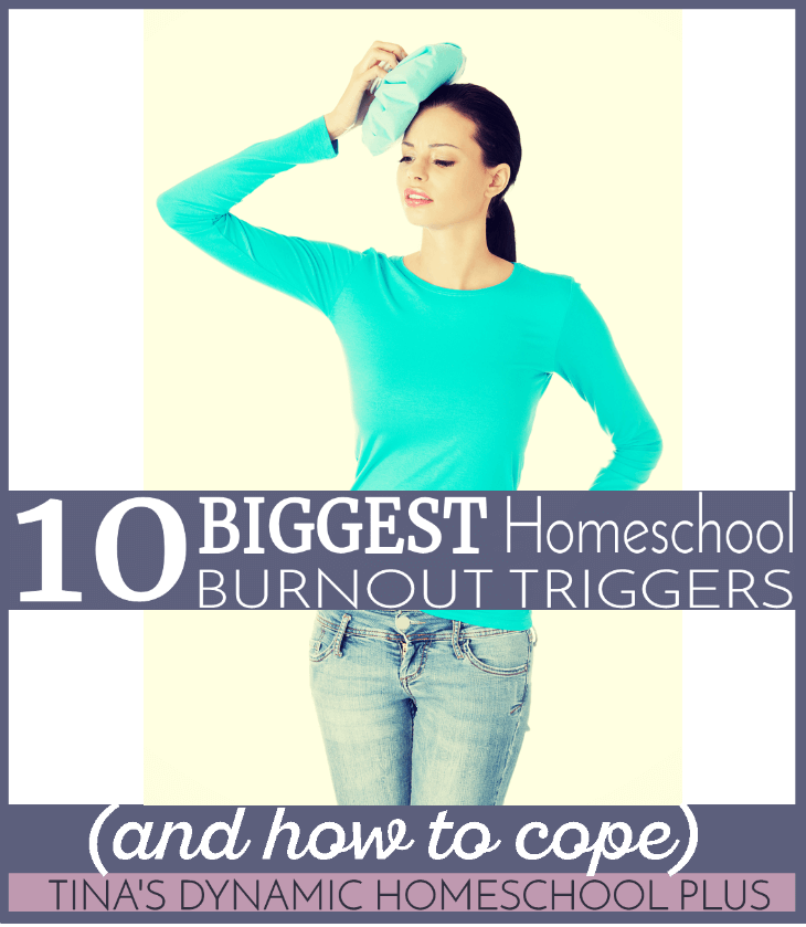 10 Biggest Homeschool Burnout Triggers (and how to cope)