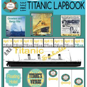 American History | Titanic Lapbook
