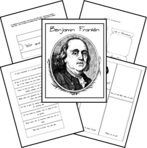 American History | Benjamin Franklin Lapbook