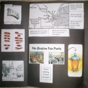 American History | Revolution Lapbook