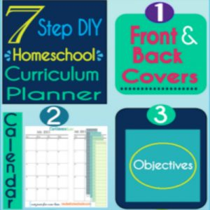 7 Step Free Curriculum Planner -Not Another Like It! | Tina's Dynamic Homeschool Plus