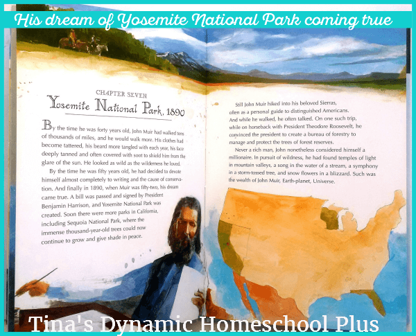 Muir's dream of Yosemite becoming a national park comes true | Tina's Dynamic Homeschool Plus