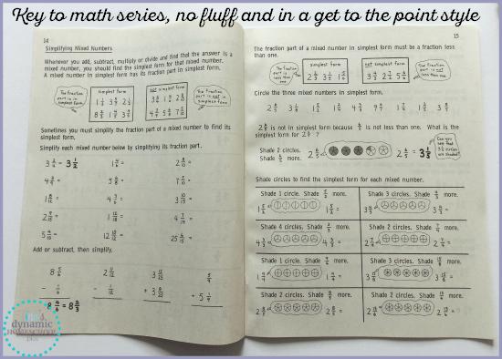 Key to Math Series @ Tina's Dynamic Homeschool Plus