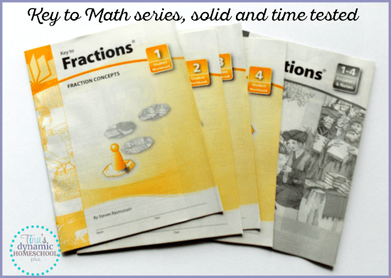 Key to Math Series. It's solid and time tested @ Tina's Dynamic Homeschool Plus