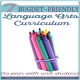 7 Budget-Friendly Language Arts Curriculum to Pair with Unit Studies300x