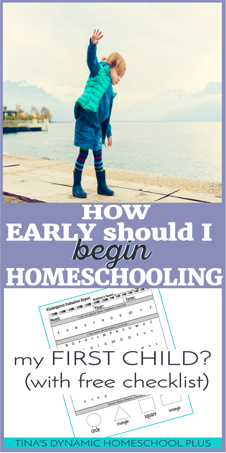 How Early Should I Begin Homeschooling My First Child? (and checklist). Being both anxious and excited, I couldn't wait to begin homeschooling my first child, Mr. Senior 2013. And being around the homeschool community because my mother homeschooled my younger sister, I had an idea of how to begin. As I began, I knew some things, but it was nowhere near what I needed to know. Click here to read my mistakes AND how to avoid them! By the way, I didn't mess up my sons, they turned out fine!
