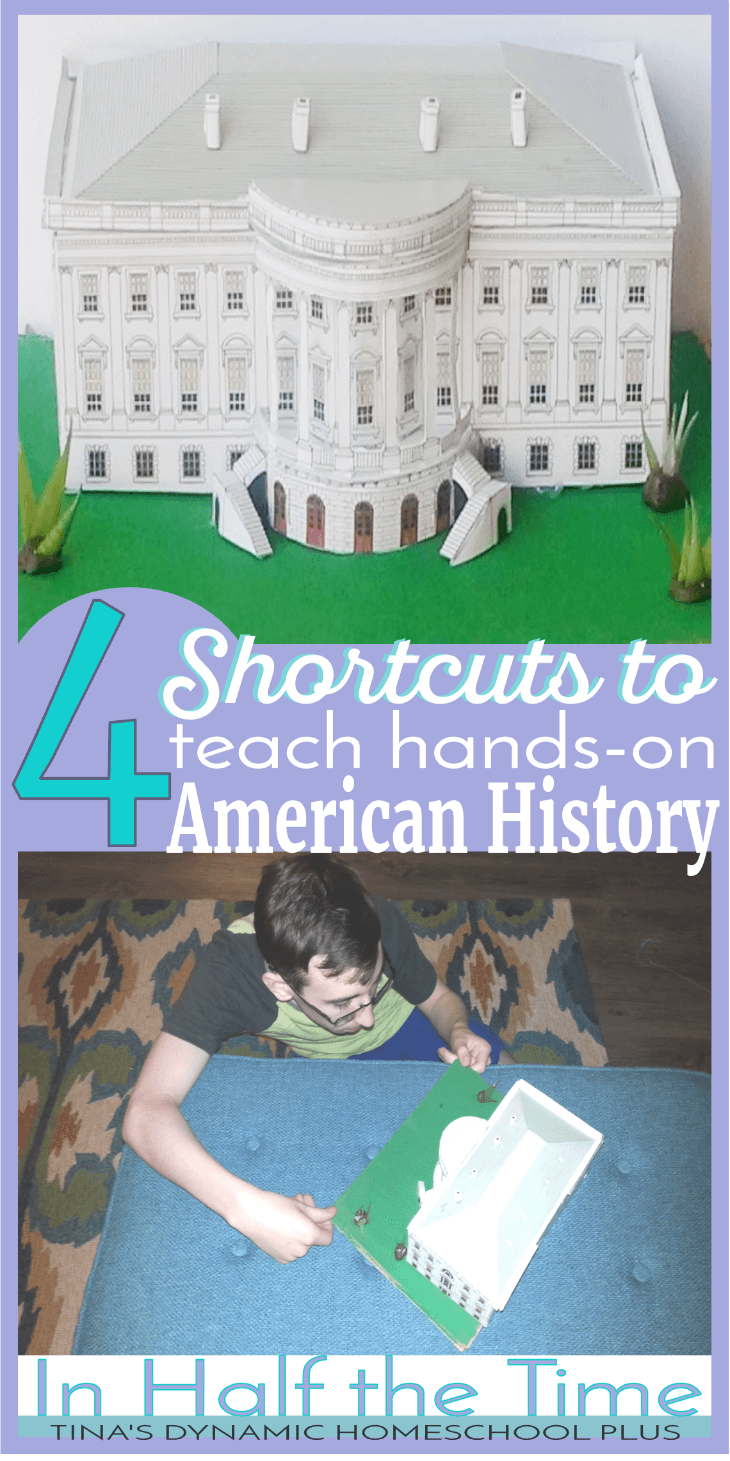 For years I've fought my tendency to stick just a worksheet in front of my sons and call it American history. Knowing that learning by doing works but keeping hands-on ideas uncomplicated are two different things for me. I tend to complicate and over-analyze the details of a history activity. Next thing you know and much to my kids' disappointment, I've completely deleted any kind of fun learning activities from our day. Can you relate? Click here to read 4 shortcuts to teaching hands-on American history activities that are no fuss, no stress, and literally no preparation!