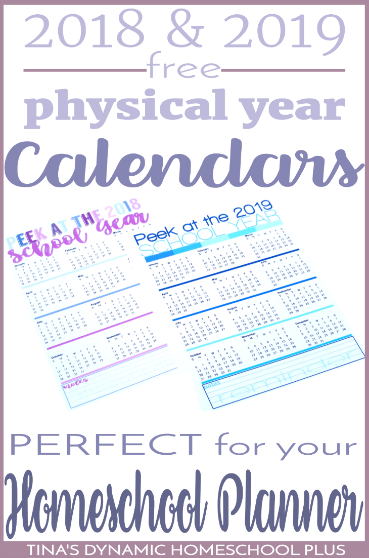 Like me, some years you want the option to plan by the physical year. For many years, I followed the physical year as the start to my school year. Also, some of you live in a country where the school year is by the physical year. I want options for all of you. Print one or more of these FREE calendars to begin building your 7 Step Homeschool Planner. Click here to grab your copy!