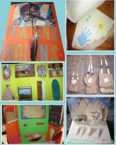 ▼ Exploring to Revolution - Plains Indians lapbook and HUGE homeschool unit study.