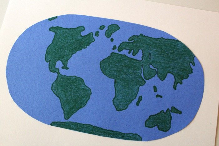 Longitude and Latitude Map Project @ Tina's Dynamic Homeschool Plus