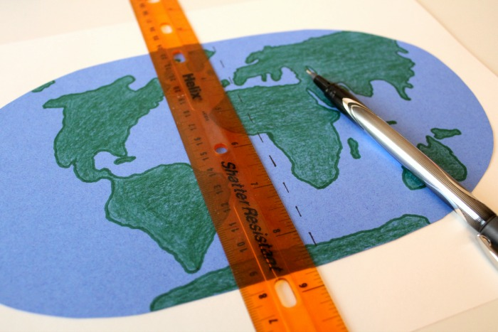 Creating a Map with Longitude and Latitude @ Tina's Dynamic Homeschool Plus