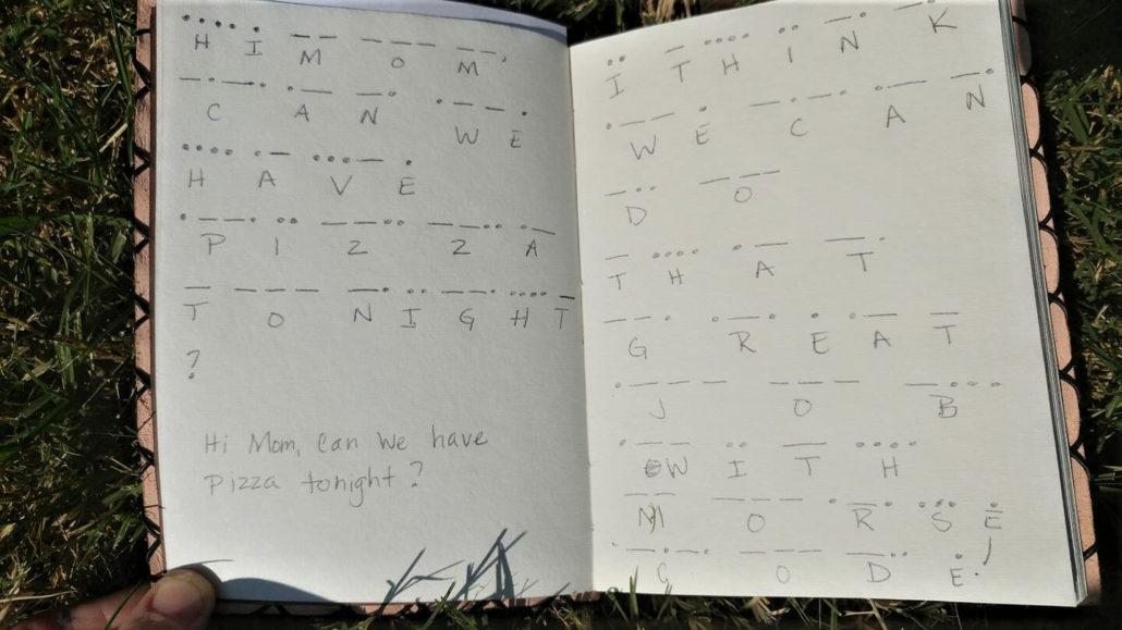 Morse Code Journal