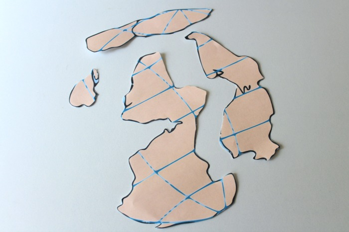 Cutting Out Pieces of a Pangaea Puzzle