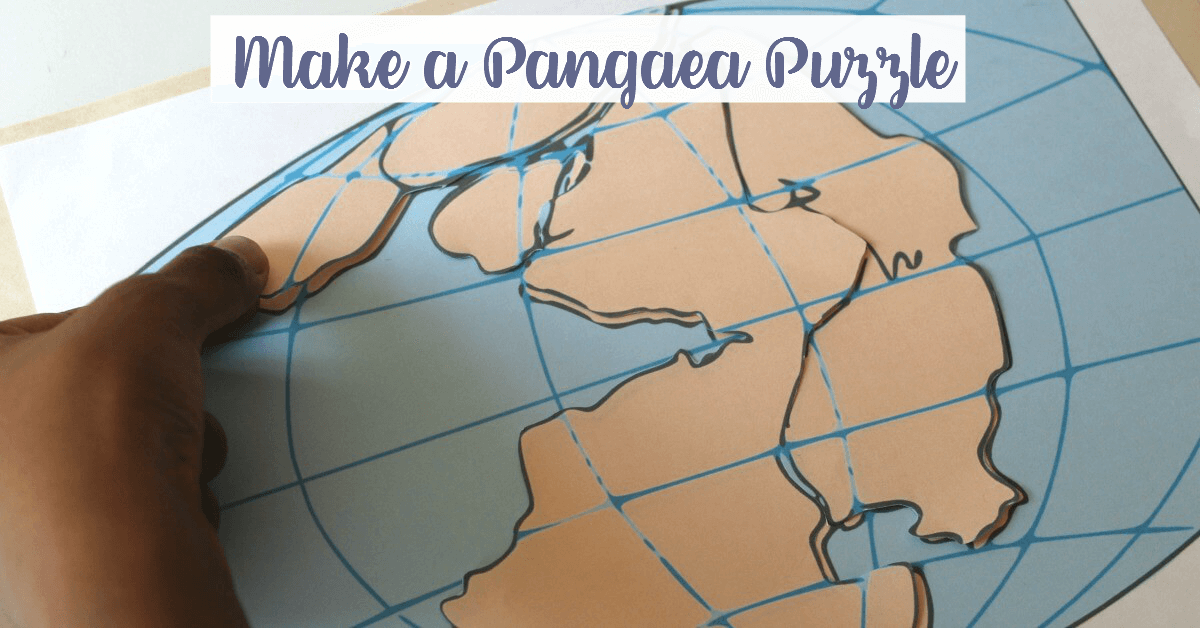 Hands-On Geography Activity: Make a Pangaea Puzzle
