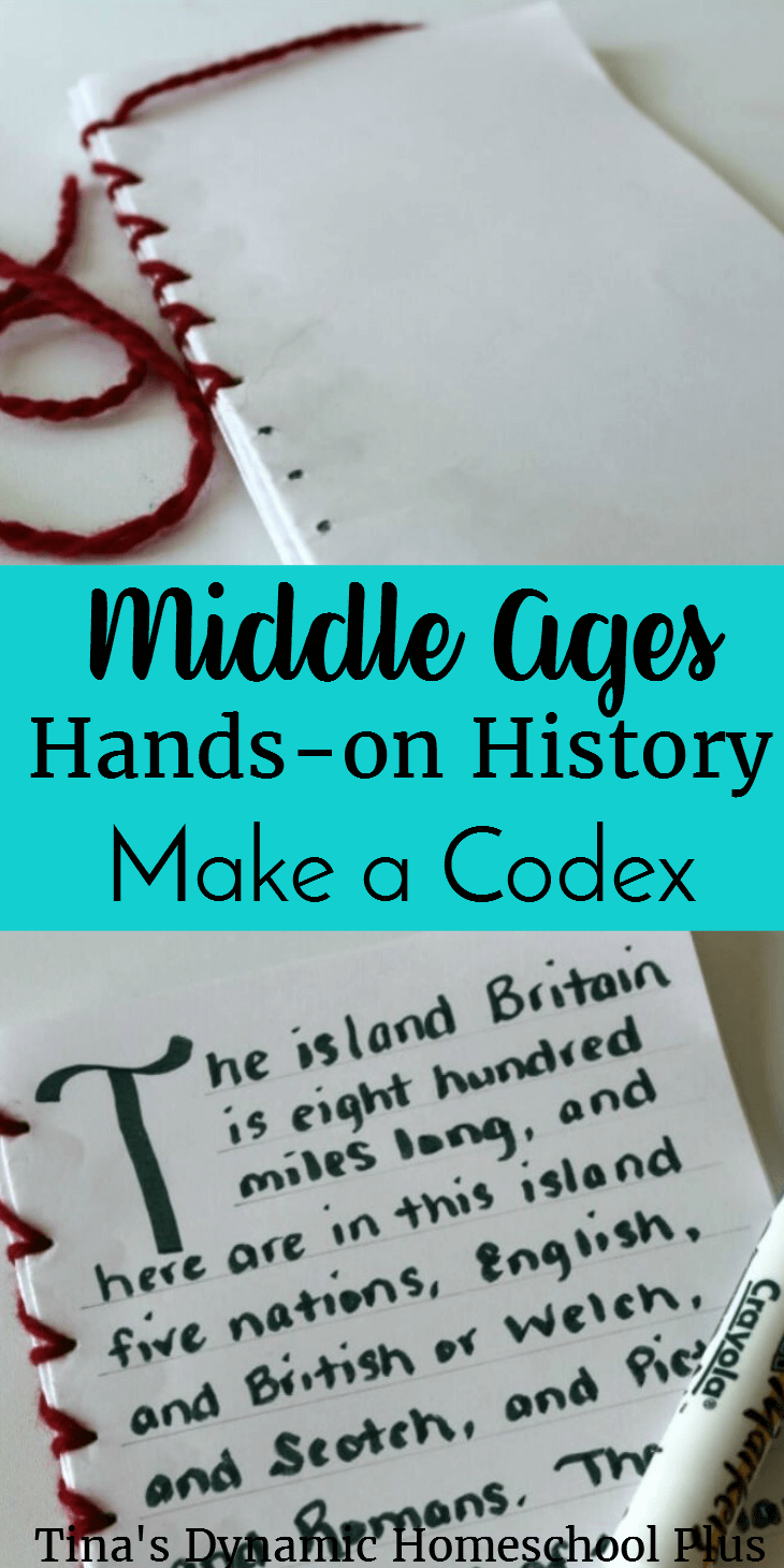 As we started studying the Middle Ages, we learned a lot about the beginning of the publishing industry, to which what we owe our modern-day books. Click here to learn how to make this fun codex!