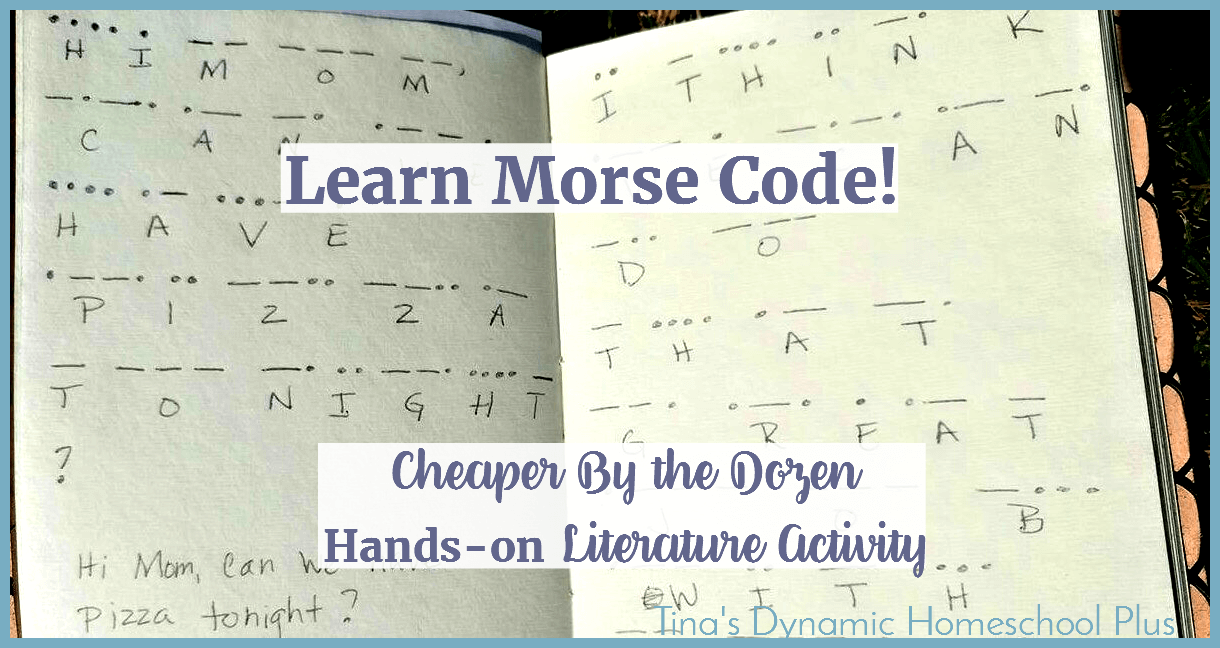 In the 1830s, a man named Samuel F.B. Morse invented both Morse code and the transmitting system used to send and receive it. The code went through some changes before it became the alphabet we know today. Learn how to make this easy hands-on idea! Click here.