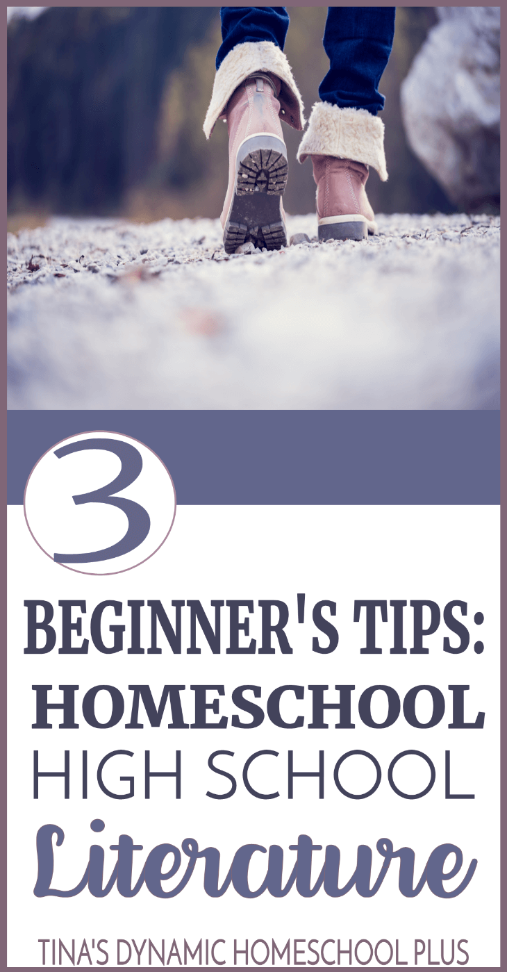 3 Beginners Tips for Homeschool High School Literature. Look at this quick and easy overview to give you a heads up about what to expect. Click here to scoot by and read the AWESOME tips! #homeschool