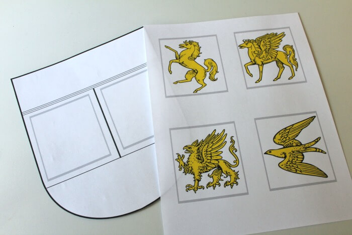 Coat of Arms Printable Craft