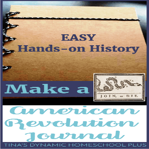 Hands-On History: Make a Revolutionary War Journal!