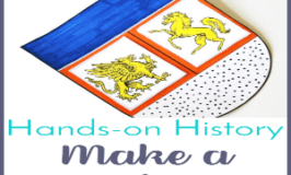 Hands-On History: Make a Coat of Arms Activity (Middle Ages History)